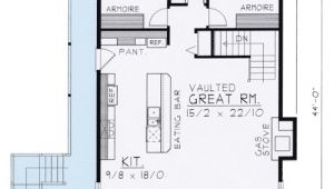 Wide Open House Plans Wide Open Lakefront Home Plan 14001dt 1st Floor Master