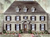Williamsburg Style House Plans Garrell associates Inc Cambridge Manor House Plan 05096