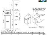 Wood Duck House Plans Instructions Usgs Bird House Plans Pdf Plans Birdhouse Gourd