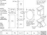Wood Duck House Plans Instructions Wood Duck Nest Box Plans Bird Houses Bird Feeders