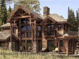 Wood Frame Home Plans Hybrid Timber Log Home Plans Timber Frame Hybrid Log and