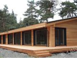 Wood Home Plans Flo Eric House Modern Extremely Well Insulated Eco