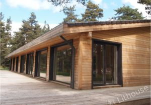 Wooden Home Plans Flo Eric House Modern Extremely Well Insulated Eco