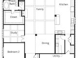 Woodside Homes Floor Plans 9123 Gothic Drive Plan 525 Model 3 Bedroom 2 Bath New