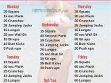 Work Out Plan at Home 12 Week No Gym Home Workout Plan