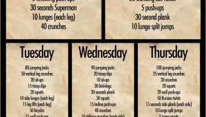 Work Out Plan at Home Exceptional Work Out Plans at Home 12 Daily Workout Plan