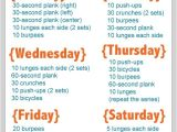Work Out Plan for Beginners at Home Go after Your Goal to Exercise More Here 39 S How Weekly