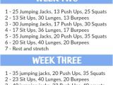 Work Out Plans for Beginners at Home 4 Week Beginner 39 S Workout Plan tone and Tighten