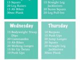 Work Out Plans for Beginners at Home 9 Best Images About Fitness Stuff On Pinterest Mondays