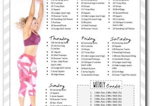 Work Out Plans for Home 10 Week Workout Plan to Insanity Back