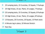 Work Out Plans for Home Level One Exercise Plan to Insanity Back