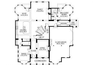 Www Eplans Com House Plans Eplans Craftsman House Plan Hidden Media Room Kitchen Deck