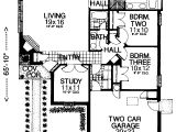 Zero Lot Line Home Plans House Plans and Design Modern Zero Lot Line House Plans